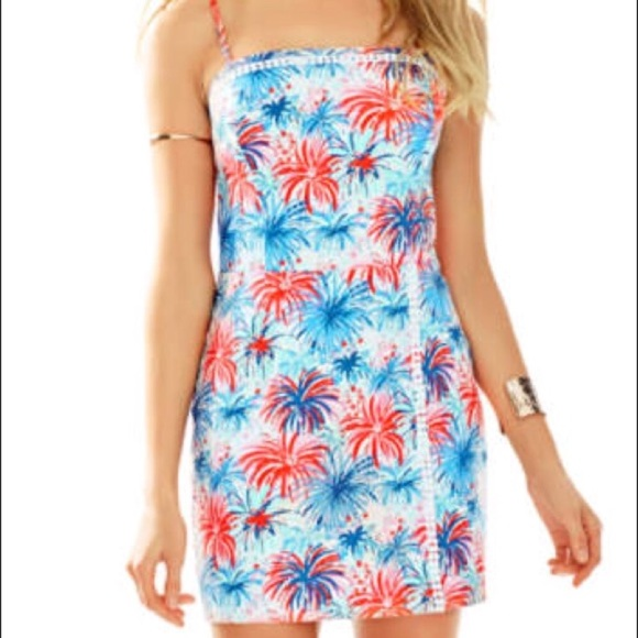 2882bd85952 Lilly Pulitzer Dresses   Skirts - Lilly Pulitzer sparks fly romper dress
